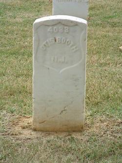 Pvt Otis Booth