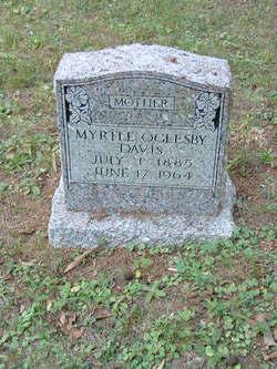 Myrtle Irene <i>Oglesby</i> Davis