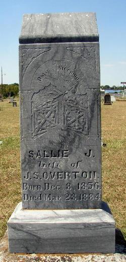 Sarah Jane Sallie Overton
