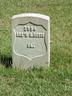 Pvt Andrew J. Berge