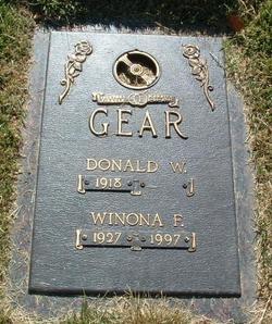 Winona F <i>Carpenter</i> Gear