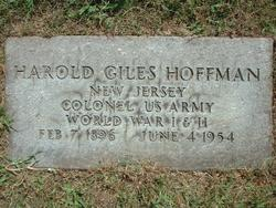 Harold Giles Hoffman