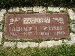 Wilford Cyrus Vawdrey
