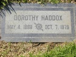 Dorothy Haddox