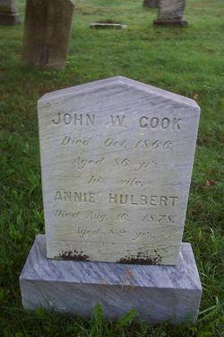 Anna <i>Hulbert</i> Cook