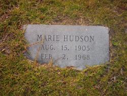 Marie <i>Hamilton</i> Hudson