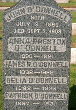 Delia <i>Joyce</i> O'Donnell