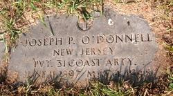 Pvt Joseph P. O'Donnell