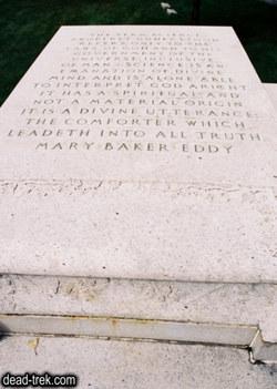 Mary <i>Baker</i> Eddy