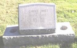 Carole Janet Clark