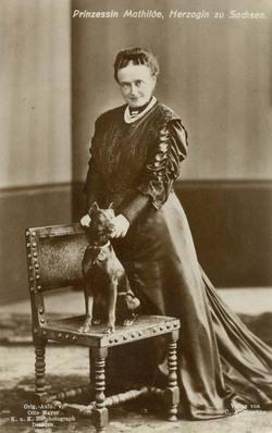 Mathilde Maria Auguste of Wettin