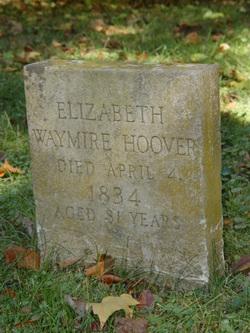 Elizabeth <i>Waymire</i> Hoover