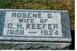 Rosene Rose/Rosine <i>Golder</i> Keefer