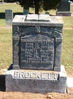 Elizabeth <i>Dickeson</i> Brockett