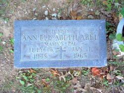 Ann Elizabeth Abel