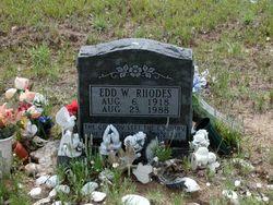 Edd W. Rhodes