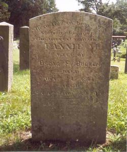 Fannie M. <i>Duryea</i> Bucken