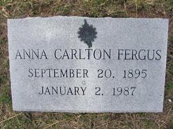 Anna Carlton Fergus