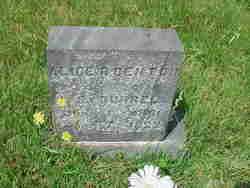 Alice R. <i>Denton</i> Burrell
