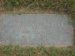 Amos Hoe Ackley