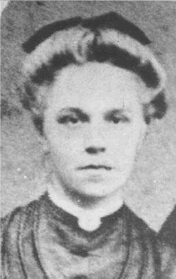 Frances Amalia Fannie <i>Lorenz</i> Rueter