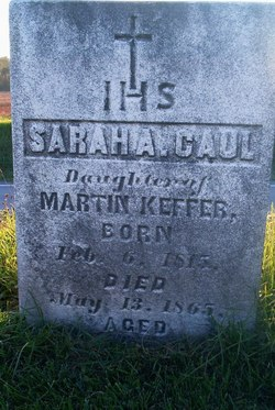 Sarah A <i>Keffer</i> Caul