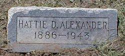 Hattie D. Alexander
