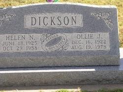 Helen Nancy <i>Phillips</i> Dickson