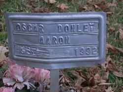 Oscar Donley Aaron