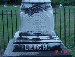 Dr H. L. Leigh