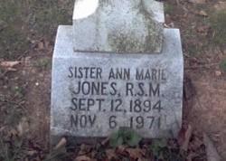 Sr Ann Marie Jones
