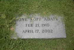 Ione <i>Ropp</i> Adair