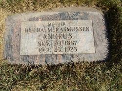 Hulda Marie <i>Rasmussen</i> Andrus