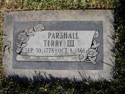 Parshall Terry, III