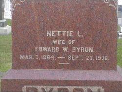 Nettie Lenora <i>Cameron</i> Byron