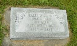 Ruth <i>Hess</i> Alden