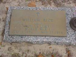 William Rice