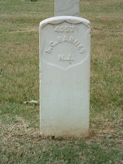 Pvt Samuel G. Barnes