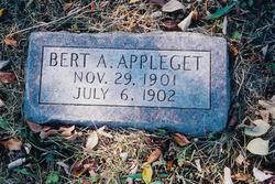 Bert A. Appleget