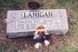 Bessie Eloise <i>Miller</i> Lanigan