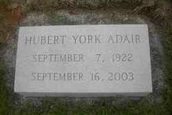 Hubert York Adair