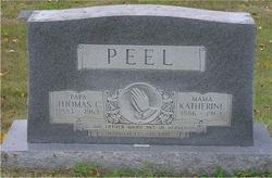 Thomas C Peel
