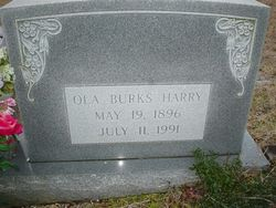 Ola Mae <i>Burks</i> Harry