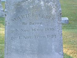 Marie Elizabeth <i>Deppe</i> Albes