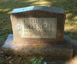 Esther L Botsch