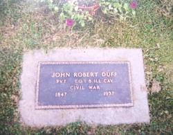 Pvt John Robert Duff