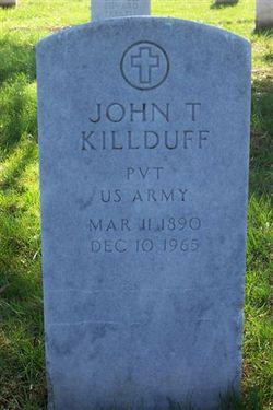 John T Killduff