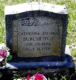 Catherine Talitha <i>DeHart</i> Burchfield