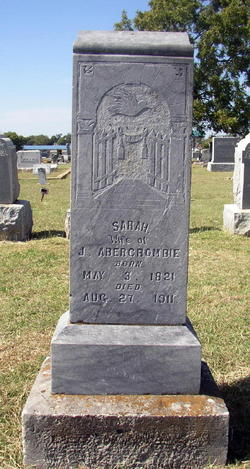 Sarah <i>Stepp</i> Abercrombie