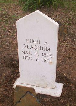 Hugh A. (Alexander?) Huey Beachum